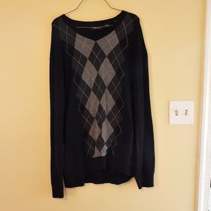 Claiborne Sweaters - 30% Off Bundles Claiborne Black & Grey Sweater